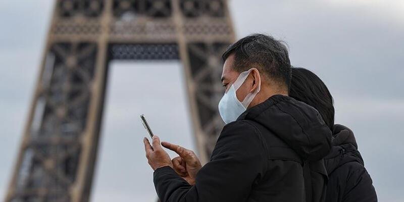 Fransa'da son 24 saatte 10 bin 908 Kovid-19 vakası tespit edildi
