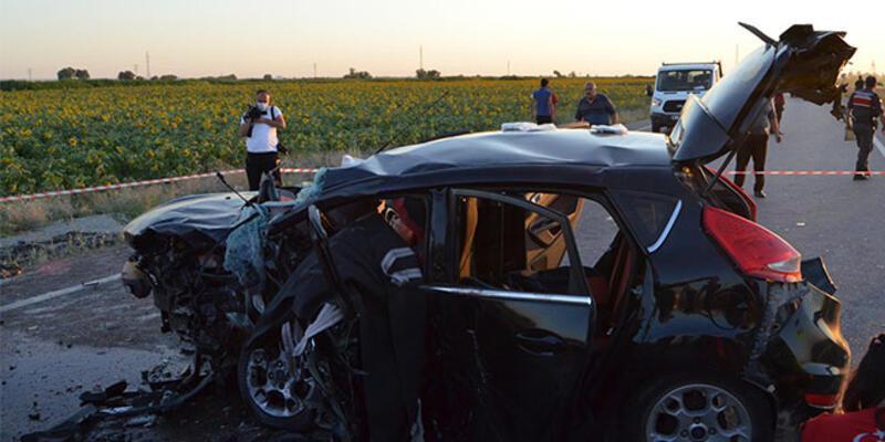 Aksaray'da zincirleme kaza: 2 ölü, 6 yaralı