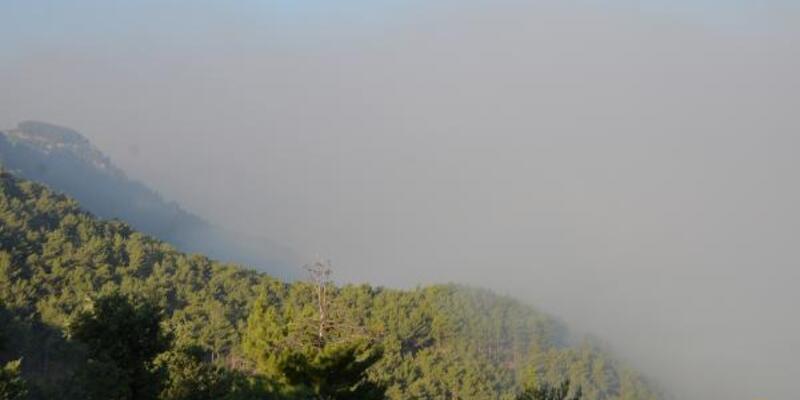 Mersin'deki orman yangını 3. gününde