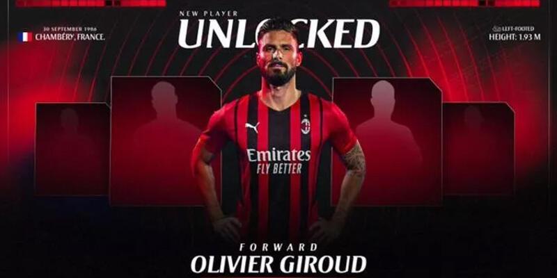 Son dakika... Milan Olivier Giroud'u resmen açıkladı!