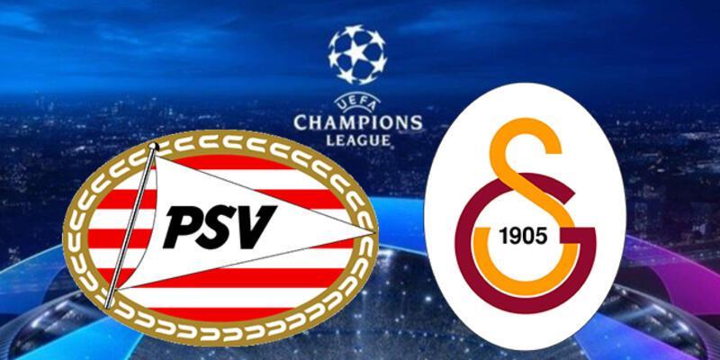 PSV Galatasaray Şampiyonlar Ligi maçı canlı yayın hangi kanalda? PSV GS maçı ne zaman, saat kaçta?
