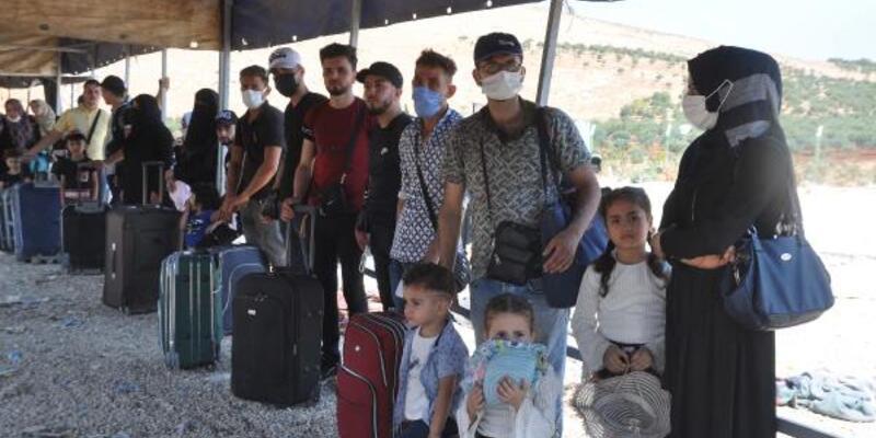 44 bin 220 Suriyeli bayramlaşmak için ülkelerine gitti