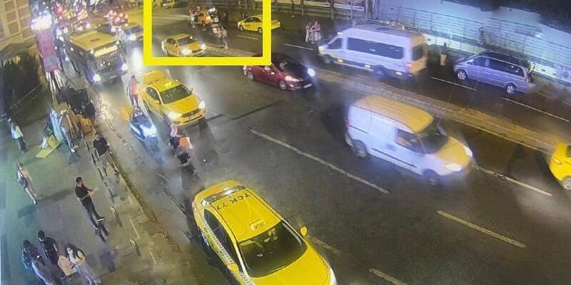 Şişli'de yolcu aldığı turistlerin paralarını çalan taksici yakalandı