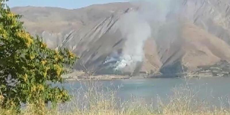 Elazığ'da orman yangını büyümeden kontrol altına alındı