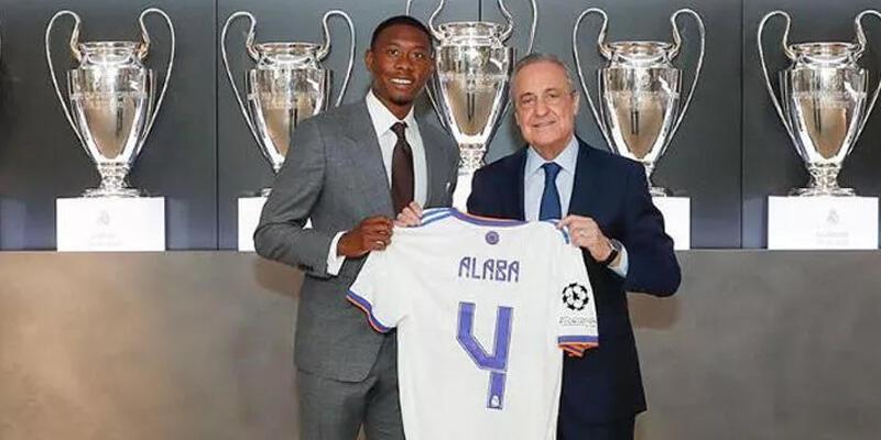 Real Madrid David Alaba ile sözleşme imzaladı