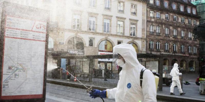 Fransa'da son 24 saatte 21 bin 539 Kovid-19 vakası tespit edildi