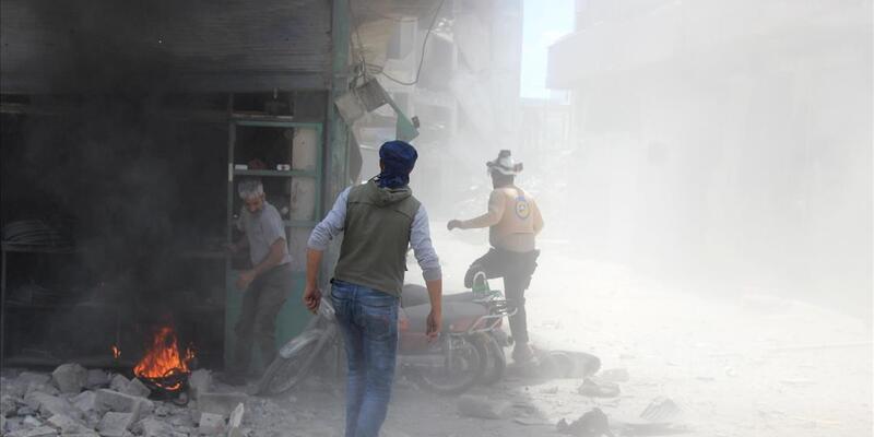 Esed rejiminin İdlib kırsalındaki saldırısında 7 sivil öldü, 3 sivil yaralandı