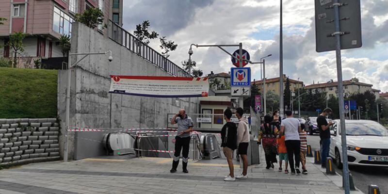 SON DAKİKA: Mecidiyeköy-Mahmutbey Metro Hattı'nda yangın