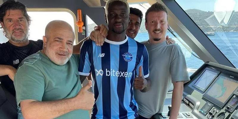 Son dakika... Akintola resmen Adana Demirspor'da!
