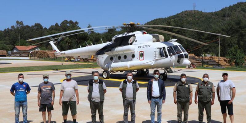 Son dakika: Yangın uçakları kaç ton su alır?  Helikopter yangın söndürme tankı kaç ton su alır?