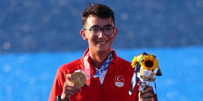 Son dakika... Mete Gazoz olimpiyat madalyasını aldı