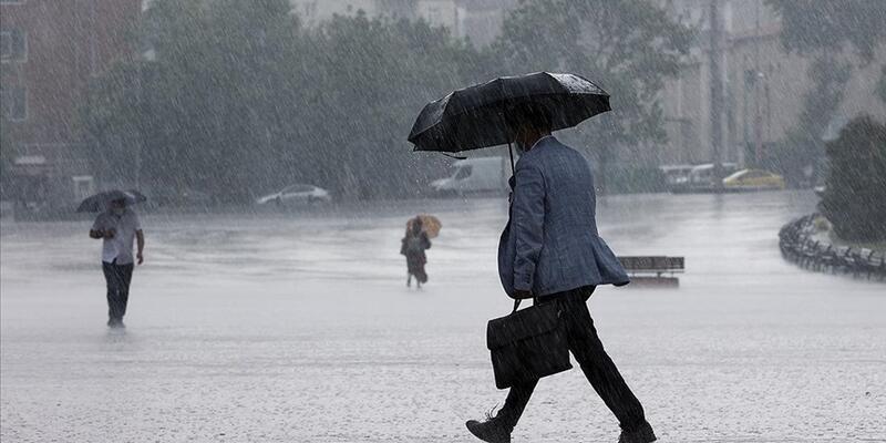 5 il için sağanak yağış uyarısı!