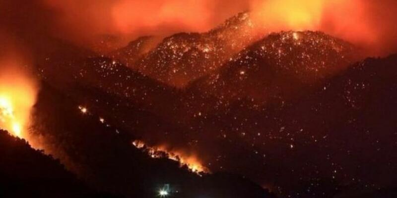 Son dakika: Çökertme nerede? Muğla, Antalya, Tunceli'de yangın! Harita: Manavgat Marmaris Köyceğiz yangınlarında son durum 2 Ağustos 2021!