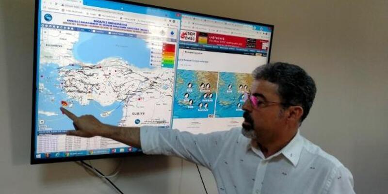 Prof. Dr. Sözbilir: Datça depremleri için korkmamıza gerek yok