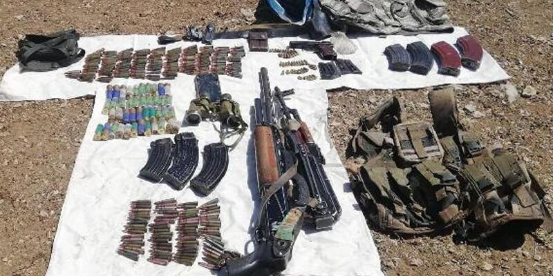 Van'da PKK'ya ait silah ele geçirildi