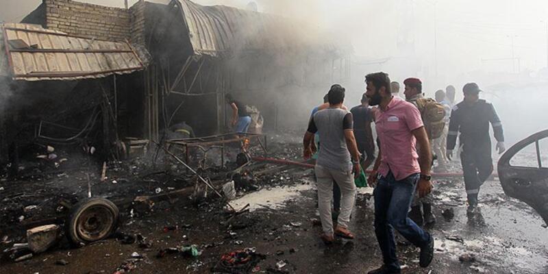 Irak'ın başkenti Bağdat'ta bombalı saldırı