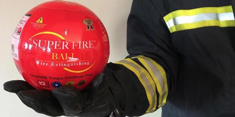 Yangın söndürme topu nedir, nasıl kullanılır? Yangın söndürme topu etkisi!