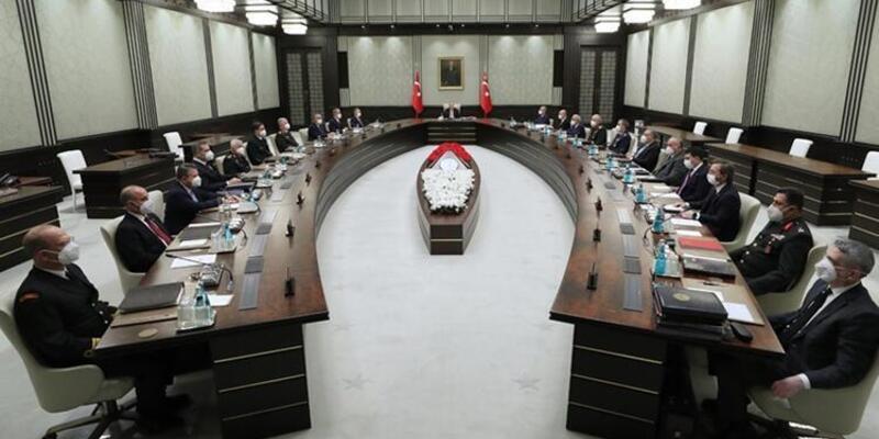 SON DAKİKA: Milli Güvenlik Kurulu toplandı