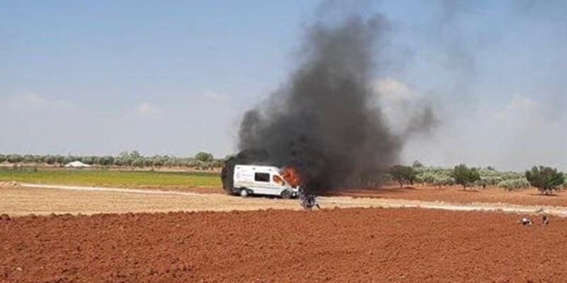 Terör örgütü, Fırat Kalkanı bölgesinde sivilleri hedef aldı