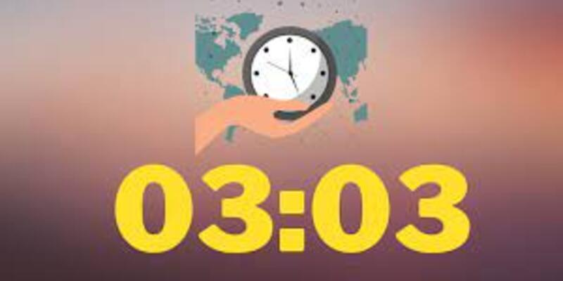 Merak edildi: 03.03 Saat Anlamı Nedir? 03.03 Çift Saatlerin Anlamı Nasıl Yorumlanır?