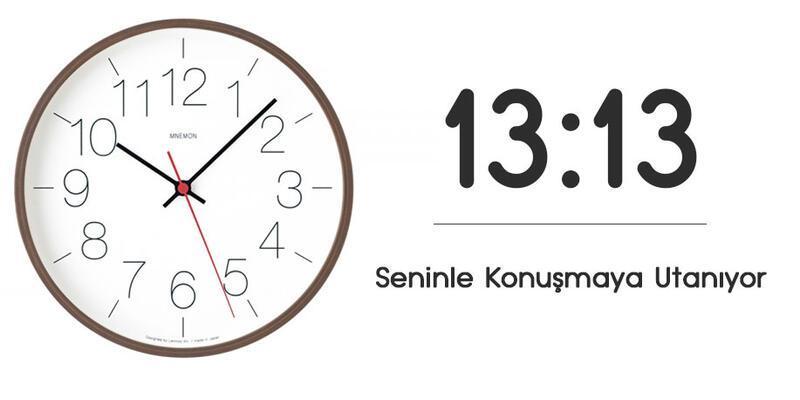 13.13 Saat Anlamı Nedir? 13.13 Çift Saatlerin Anlamı Nasıl Yorumlanır?