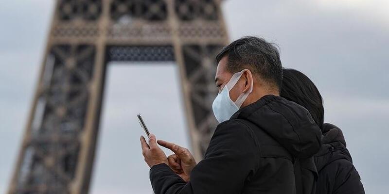 Fransa'da son 24 saatte 5 bin 829 Kovid-19 vakası kaydedildi
