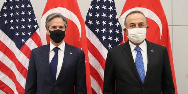 Bakan Çavuşoğlu, ABD'li mevkidaşı ile görüştü