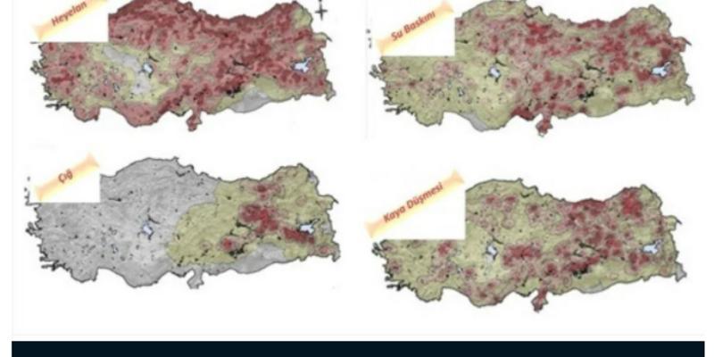 Afet algımız da haritalar da değişiyor