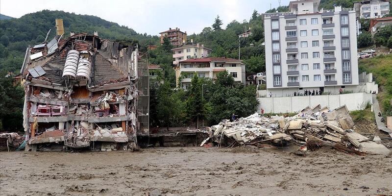 SON DAKİKA: AFAD sel felaketinde son durumu açıkladı