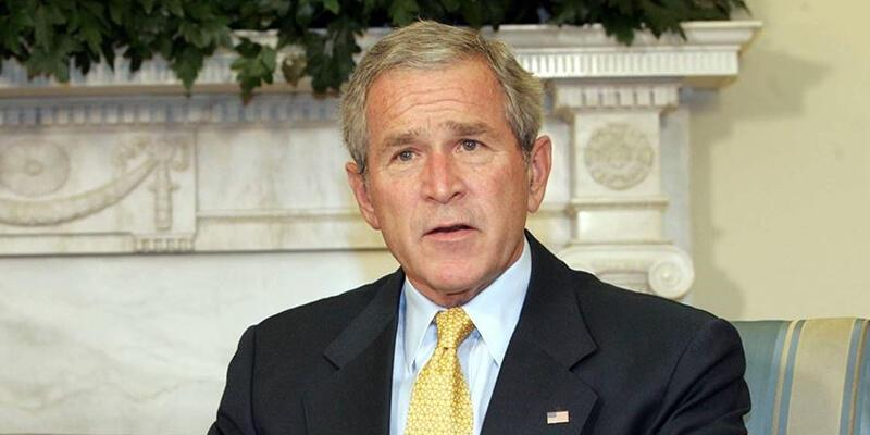 George Bush'tan Afganistan açıklaması
