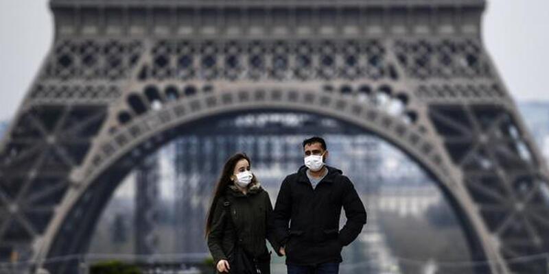 Fransa'da son 24 saatte 28 bin 114 Kovid-19 vakası tespit edildi