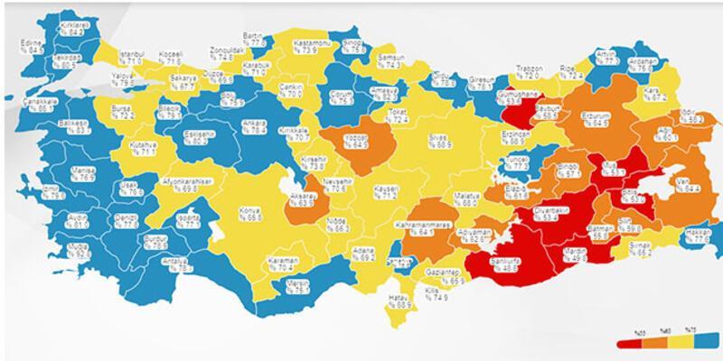 Kovid-19 risk haritasında düşük riskli il sayısı 31'e yükseldi