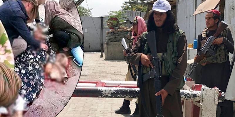 Kan donduran görüntüler: Taliban'dan Afgan kadına infaz