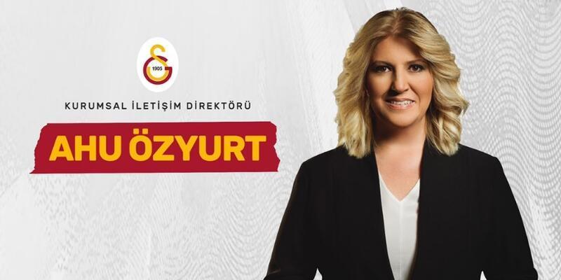 Ahu Özyurt Galatasaray'da göreve başladı