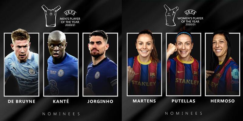 UEFA, yılın futbolcusu ve teknik direktör adaylarını açıkladı