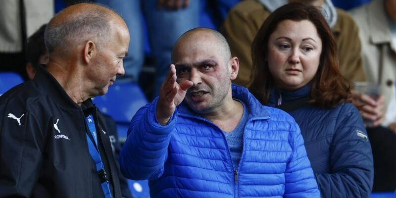 Randers-Galatasaray maçında kavga çıktı