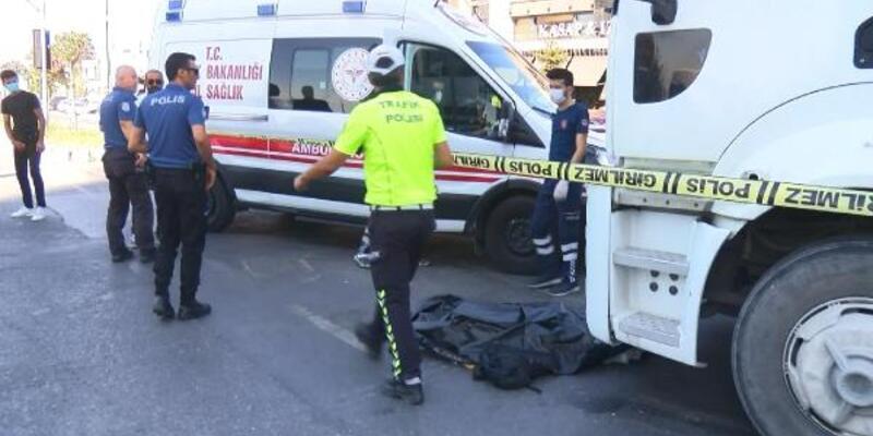 Büyükçekmece'de hafriyat kamyonun altında kalan yaşlı adam öldü