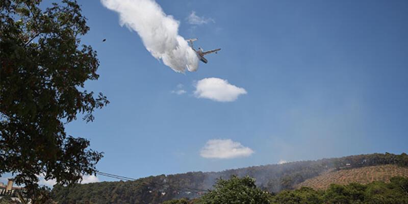 Bakan Pakdemirli'den Heybeliada yangını açıklaması: 3 dakikada müdahale edildi