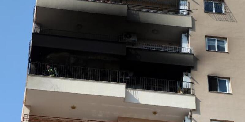 10. kattaki dairede çıkan yangın söndürüldü