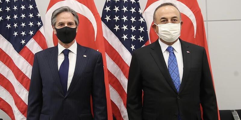 Son dakika: Dışişleri Bakanı Çavuşoğlu, ABD'li mevkidaşıyla görüştü