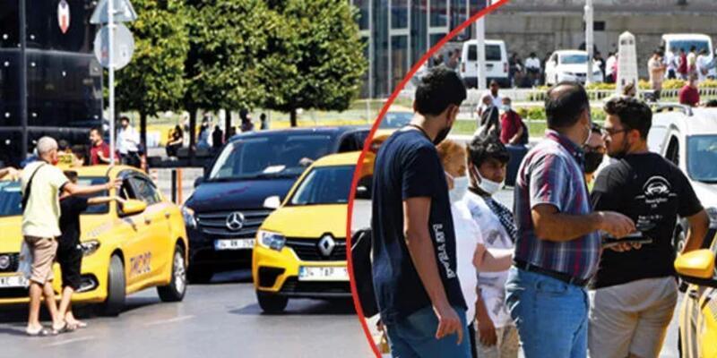Krizin nedeni plaka ağalığı: İstanbul'un bitmeyen taksi çilesi
