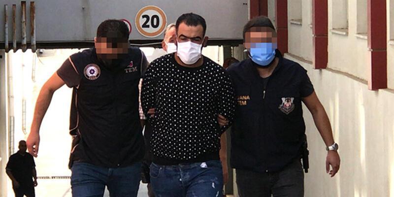 Suriye'den geldiği belirlenen terör örgütü YPG/PKK üyesi terörist Adana'da yakalandı