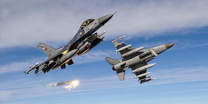 Irak'ın kuzeyindeki Haftanin'de 5 PKK'lı terörist hava harekatıyla etkisiz hale getirildi