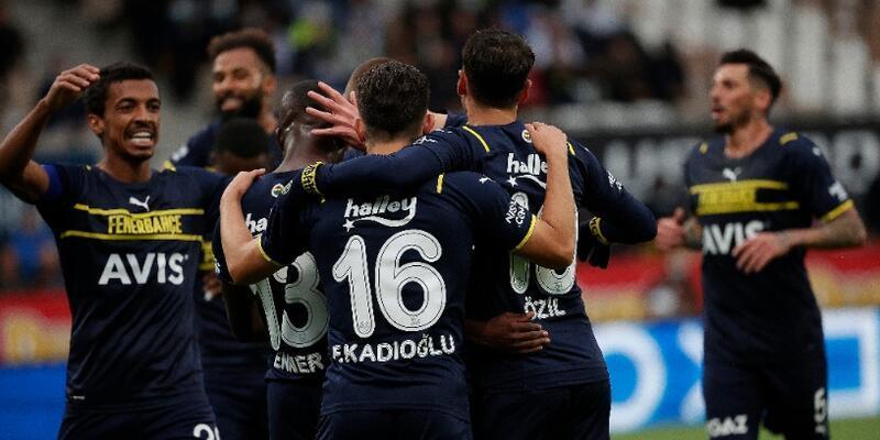 Valencia şov yaptı Fenerbahçe turladı