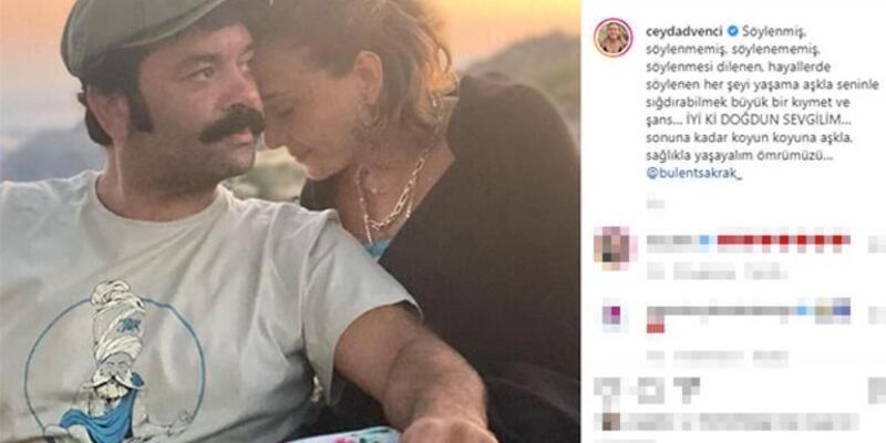 Ceyda Düvenci: Ömrümüzü sonuna kadar aşkla yaşayalım