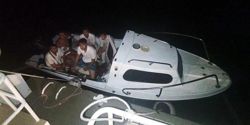 FETÖ/PDY bağlantılı 6 eski asker tekneyle kaçarken yakalandı