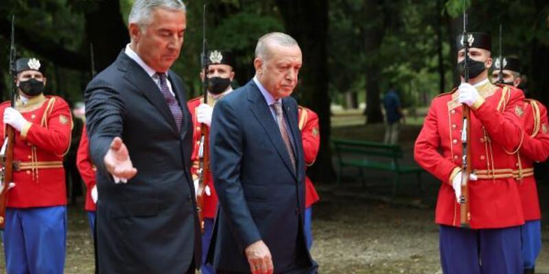 Cumhurbaşkanı Erdoğan, Karadağ'da