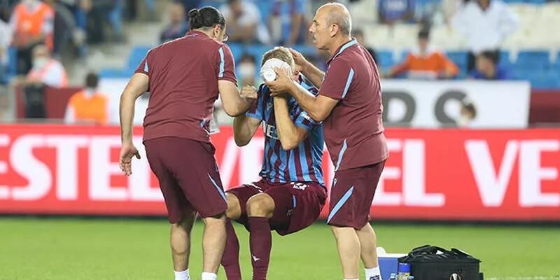 Son dakika... Trabzonspor'a 4 futbolcudan kötü haber