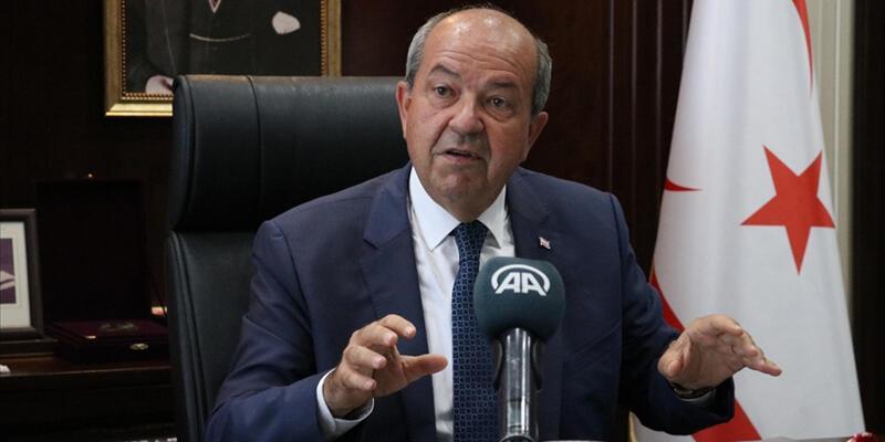 KKTC Cumhurbaşkanı Tatar'dan Anastasiadis'e tepki