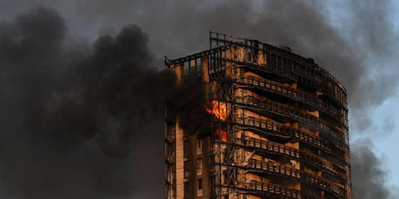 70 aile yaşıyor! Korkutan yangın
